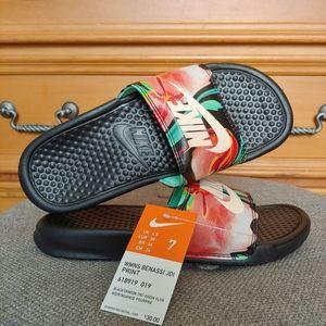 Nike Benassi JDI Womens Slide Sandals Size 7